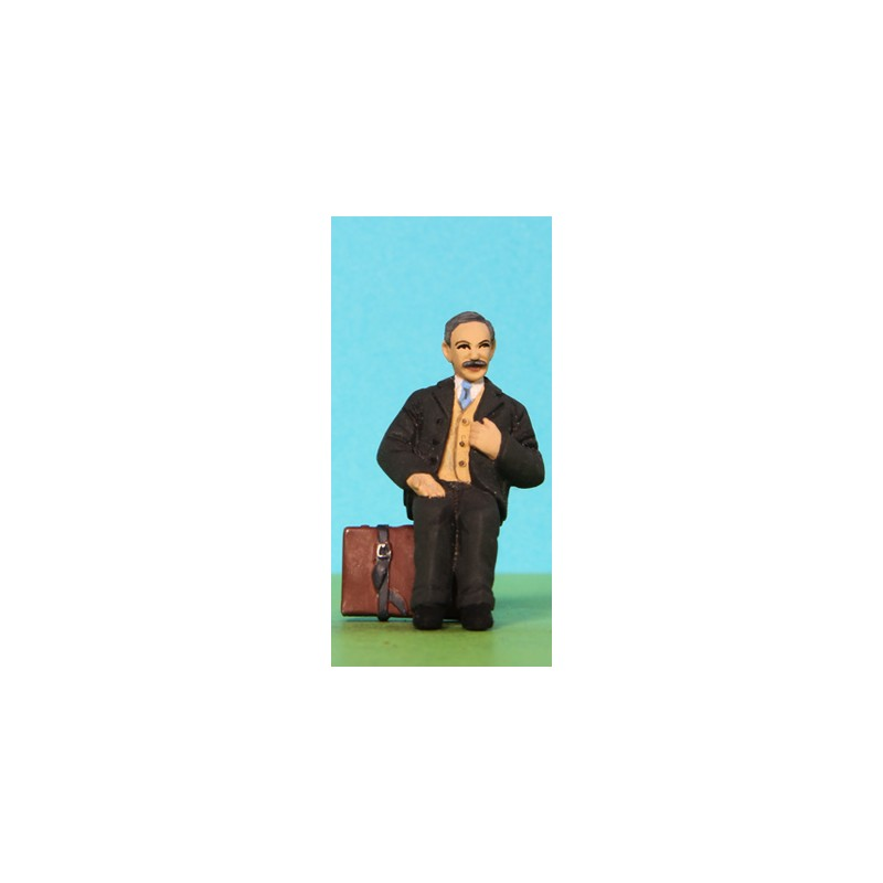2301-A212 Sitting man with moustache_55422