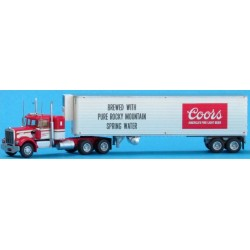 744-59056 N Kenworth W900 w/40' reefer Coors_55517