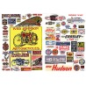 HO Motorcycle & Auto signs 1900-1960s