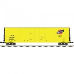 O 2-RL 53' Evans Dbl plug Door Box Car C&NW 600523_55529