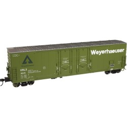 O 2-RL 53' Evans Dbl plug Door Box Car Weyerh 3028_55535