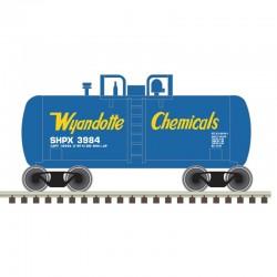 N Beer Can Shorty Tank Car Wyandotte Chem 3984_55544