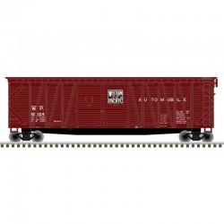 N 50' sgl sheathed box car Western Pacific 12124_55606