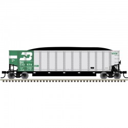 HO Aluminum Coal Gondola BN 534566_55643