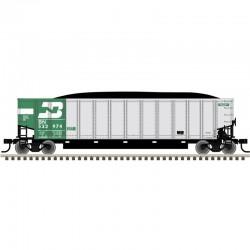 HO Aluminum Coal Gondola BN 534354_55644