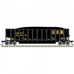HO Aluminum Coal Gondola CSX 300078_55646
