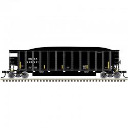 HO Aluminum Coal Gondola EGSX 950115_55651