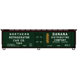 HO Early 40' Wood Reefer - Kit Northern Refrigerat_55700