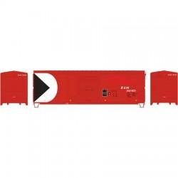 HO 40' Modernized Box Car E&N ex CP 292407_55799
