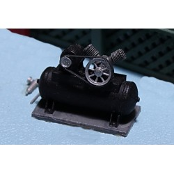 164-509 O Air Comp. w/Tank & Motor_5596