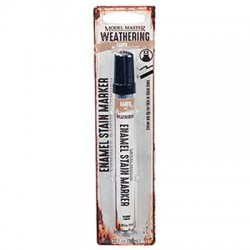 Enamel Stain Weathering Marker - Earth .33oz 9.8ml_55971
