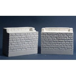 On3/On30 Bridge Abutments Pair_55998