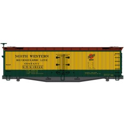 HO 40' Early Wood Reefer NW Refrigerator Line15129_56050