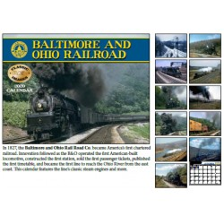 2020 Baltimore & Ohio Railroad Kalender_56070