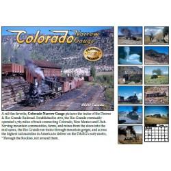 2020 Colorado Narrow Gauge Kalender_56080