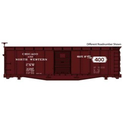 HO 40' Steel Rebuilt USRA Wood Boxcar C&NW 3388_56254