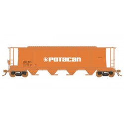 HO NSC 3800 Cylindrical Covered Hopper (1) Potacan_56299