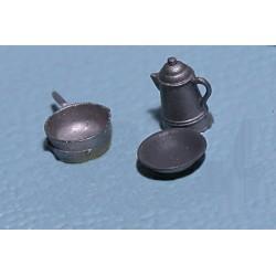 164-570 O Coffee Pot, Bowl & Pan_5648