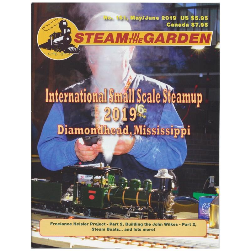 Steam in the Garden No. 161_56565