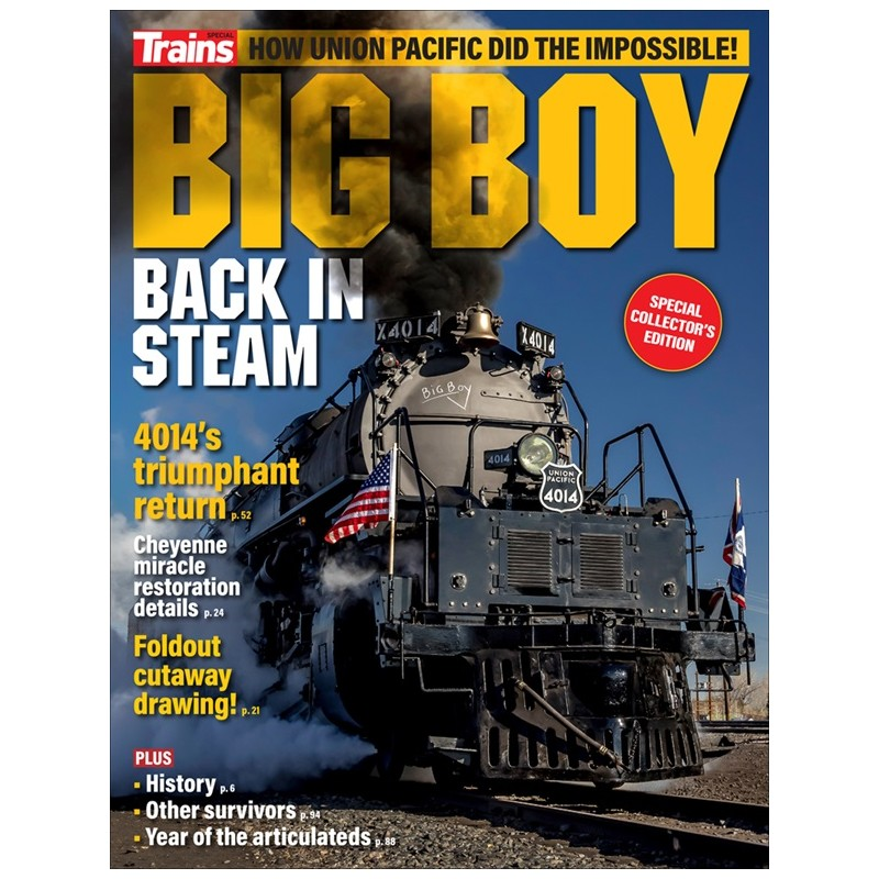 Big Boy - Back in Steam Trains Special Issue_56668