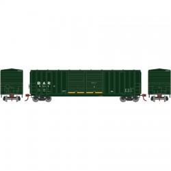 HO 50' 5283 FMC dbl door box car B&A 9589_56769