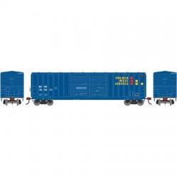 HO 50' 5283 FMC dbl door box car Golden W 765011_56775