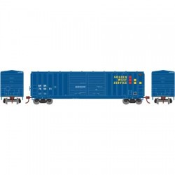 HO 50' 5283 FMC dbl door box car Golden W 774166_56777