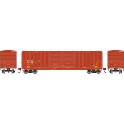 HO 50' 5283 FMC dbl door box car WC 103001_56783