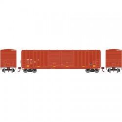 HO 50' 5283 FMC dbl door box car WC 103012_56785