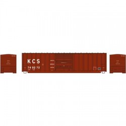 N 50' Berwick Box Car Kansas City Southern 749280_56892