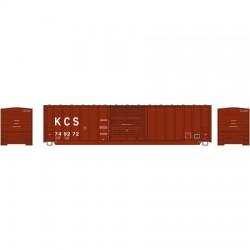 N 50' Berwick Box Car Kansas City Southern 749298_56894