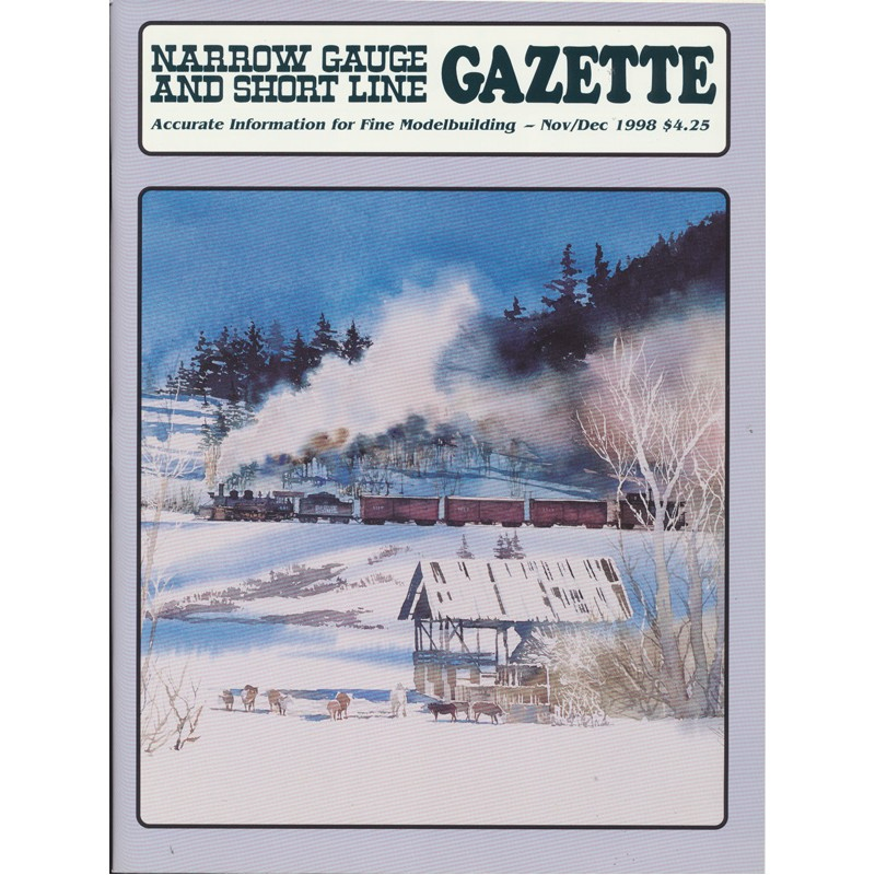 Narrow Gauge Gazette 1998 Heft 6 Nov/Dez_56906
