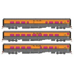 HO Tempo Ski Train 3-Car Set Set 2_56915