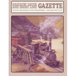 Narrow Gauge Gazette 1997 Heft 4 Juli/August_56927