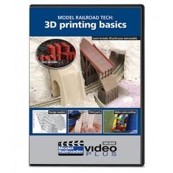 DVD Model Railroad Tech: 3D Printing Basics DVD_56933