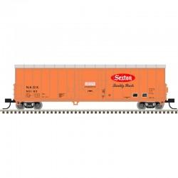 N NACC 50' Smoothside RBL car Sexton Foods 50163_56971