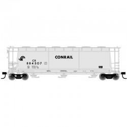 HO 3 & 6-Bay cylindrical hopper Conrail 884914_57001