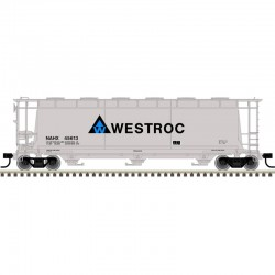 HO 3 & 6-Bay cylindrical hopper Westroc 45613_57007