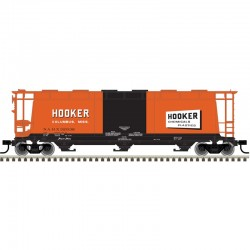 HO 3 & 6-Bay cylindrical hopper Hooker Chem 31957_57011