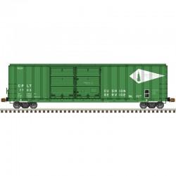 HO FMC 5077 dbl door box car CP&LT 7703_57074