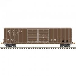HO FMC 5077 dbl door box car S&NC 1097_57089