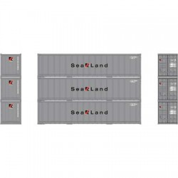 N 40' Smooth Side Container (3-Pack) Sealand_57223