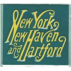 460-10007 Die-cast metal sign NY / NH_57336