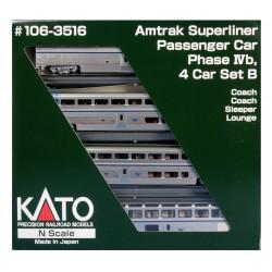 N Superliner I 4-car Set B Amtrak PH VI_57389