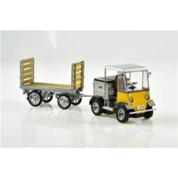 HO PTT Elektro-Schlepper mit Anhänger TR-5047e Nef_57485