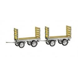 HO PTT Gepäckwagen - Set mit 2 Stk._57487