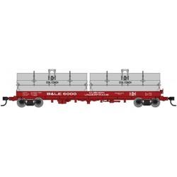 HO 50' Cushion Coil Car Bessemer & Lake Erie 6001_57595