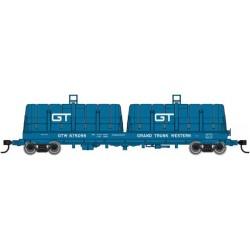 HO 50' Cushion Coil Car GTW 101144_57604