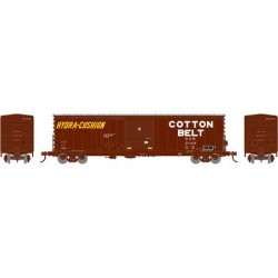 HO 50' Combo door box Car Cotton Belt 20382_57661