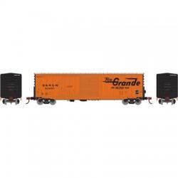 HO 50' Combo door box Car Rio Grande 63119_57662